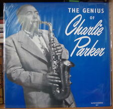 CHARLIE PARKER THE GENIUS OF CHARLIE PARKER FRENCH LP SAVOY