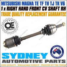 RIGHT CV JOINT DRIVE SHAFT Mitsubishi MAGNA TE TF TH TJ TK V6 Drivers Side RH