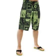 Independent ADVerts Green Boardshorts Surf Shorts Wake - MENS SIZE 36 Inch WAIST
