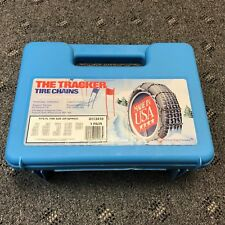 Peerless Passenger Car Tire Chains The Tracker Winter Driving Snow Ice 0113410