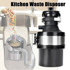 220V 1/2HP Garbage Disposal Continuous Feed Home Kitchen Food Waste Disposer