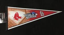 2013 World Series Pennant Red Sox/ Cardinals