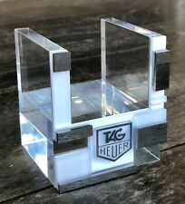 TAG HEUER Watch Stand Display Monaco Monza Formula 1 Chronograph Link Aquaracer