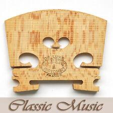 "Genuine Aubert""De Luxe""Violin Bridge for 4/4 violin,Made in France.Free shipping"