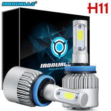IRONWALL H11 H9 H8 1500W 225000LM CREE LED Headlight Conversion Lamp Bulbs 6000K