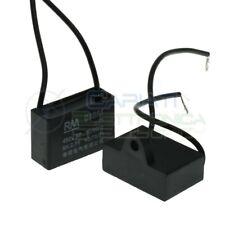 Condensatore elettrico Cbb61 2uF 450V di spunto per motore ventilatore