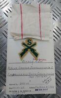 Authentique Vintage British Army Inspectorate De Magasins & Vêtements D' Card