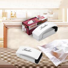 More details for mini handheld plastic food sealing machine bag sealer tool portable heat packing