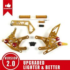 Fit Yamaha YZF R1 RN32 2015 - 2019 2016 2017 Adjustable Rearsets Footrests New