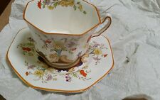Vintage Radfords Fenton Bone China Floral Cup & Saucer Set England 4532/A