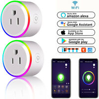 Mini Wifi Smart Plug Power Socket Switch Timer Outlet Lights Alexa Google Home