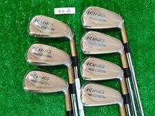 Cobra King Forged Tec Copper Irons 4-P KBS $-Taper Lite Stiff Steel New