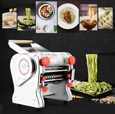 750W Electric Pasta Noodle Making Machine Dumpling Skin 0.1-20mm Home Commercial