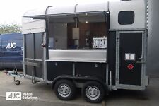 AJC Deluxe Horse Box Mobile Catering Trailer Converted, Bar, Food, Vintage
