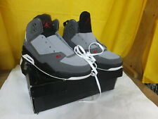 JORDAN AIR SC-2 454050 GRAY, SILVER AND White LACE UP
