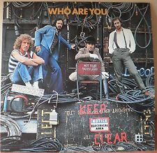 "THE WHO "" Who Are You "" (Vinyle 33t / LP) 1978 - Pressage US - US Pressung"