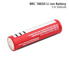 Batería Recargable Brc 18650 3.7V 3000mAh Celular Para Linterna Faro Juguete E0