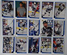 1993-94 Upper Deck UD Tampa Bay Lightning Team Set of 15 Hockey Cards No 121 461