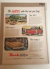 Nash Airflyte Car Advertisement - 1950