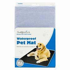 Estera impermeable limpie Mascota Perro Gato Resistente Resistente Para-Coche - (50cm X 71cm) NUEVO