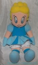 "Retired DISNEY STORE Plush 12"" CINDY CHARACTER KID Cinderella Doll w/Sewn Eyes"