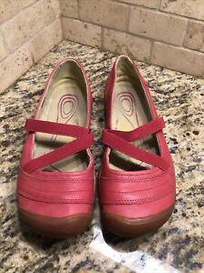 "KEEN Rivington 2 Criss-Cross CNX woman's size 8.5 ""Very Berry"" pink shoes"