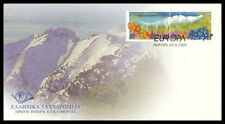 Greece. Europa Cept 1999, Mount Olympos and wild flowers, Greek FDC.