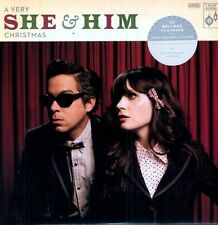 Very She & Him Christmas - She & Him (2011, Vinyl NEU)