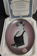 "Bradford Exchange Princess Diana Plate ""Compationately, Diana"" With COA! LTD ED"
