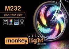Monkey Light M232 LED Bicycle Wheel&Spoke Light 48 Color Theme Flashing Safety