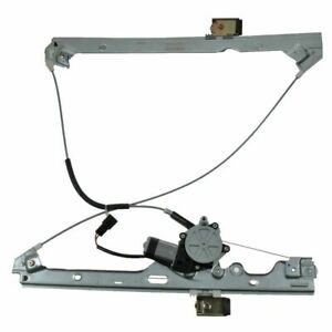 Power Window Regulator w/ Motor Front Driver Side Left LH for Chevy GMC Cadillac