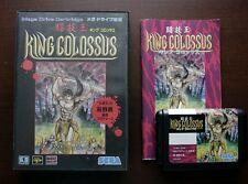 Sega Mega Drive MD Togioh King Colossus Japan original game US Seller