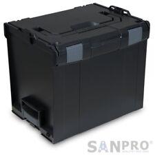 L-BOXX | Sortimo LB 374 SCHWARZ / Leer-Koffer | Innenmaße 378 x 294 x 339 mm