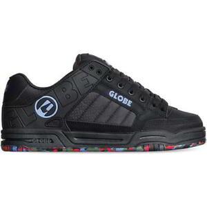 Globe Tilt Mens Black Upcycle Vegan Skate Shoes Trainers Size UK 8-12