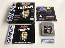 InfoGenius Productivity Pak Berlitz French Translator - Nintendo Game Boy - USA