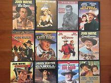 JOHN WAYNE- 12 Classic Western DVDs, 10 in R1, 2 in R2, Professionally Restored