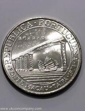 1974 Macau Silver 20 Patacas Coin Low Mintage