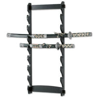 New 8 Tier Sword Wall Mount Display Stand Rack only