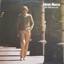 JURGEN MARCUS  -  EIN TEIL VON MIR - LP (ORIGINAL INNERSLEEVE)