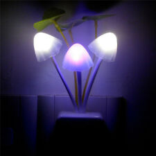 New Lamp Colorful LED Mushroom Night Light Bed Wall Lamp Home Illumination