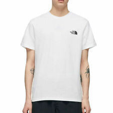 The North Face Mens T Shirt Simple Dome White Mens Classic Short Sleeved Tee
