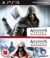 Assassins Creed Revelations & Assassins Creed Brotherhood - Double Pack ~ PS3