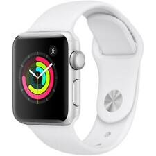 Apple Watch Series 3 - 38mm - Silver Case - White Sport Band (GPS)