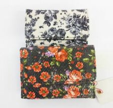 Bifold Floral Women's Purses & Wallets with Organizer
