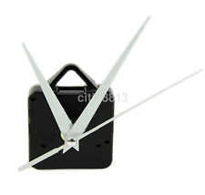 Quartz Wall Clock Movement Mechanism DIY Repair Tool Parts Kit White Hands au^