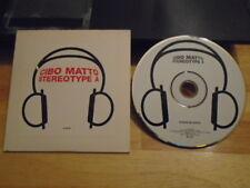 RARE ADV PROMO Cibo Matto CD Stereo Type A Sean Lennon MARC RIBOT beck GORILLAZ
