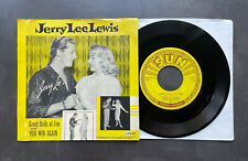 """7"""" Jerry Lee Lewis - Great Balls Of Fire - US SUN 281 w/ Pic"""