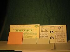 HO Champ Decal HB-430 Great Northern GN 40' box car Forward Facing Goat Herald