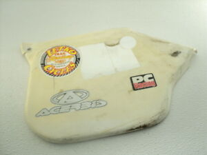 Canam Rotax Bombardier MX250 MX 250 #5203 Right Plastic Side Cover / Panel