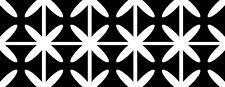 10x Malteserkreuz Maltese Cross 22 Aufkleber